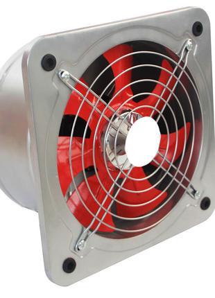 Настенный осевой вентилятор с обратным клапаном и Ø вход. отве...