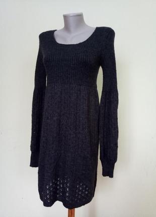 Теплое немецкое платье туника шерсть мохер