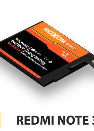Аккумулятор Xiaomi Redmi Note 3 (BM46), батарея сяоми ксиоми р...
