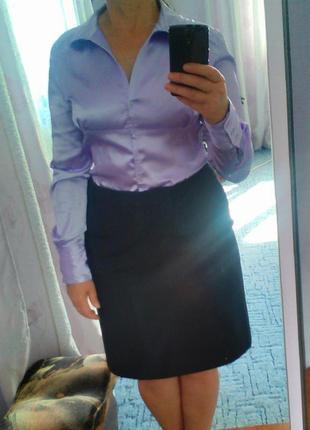 Блузка атласна