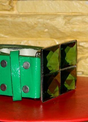 Пояс женский зеленый