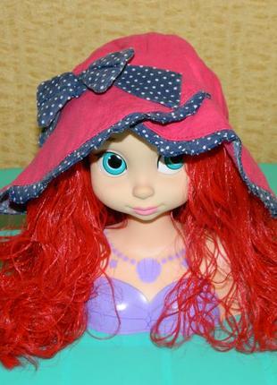 Детская панама на девочку 2-3 года розовая tu