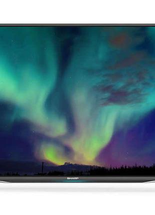 "Телевизор 49"" Sharp LC-49CFE6352E-Smart TV-(A)-Б/У"