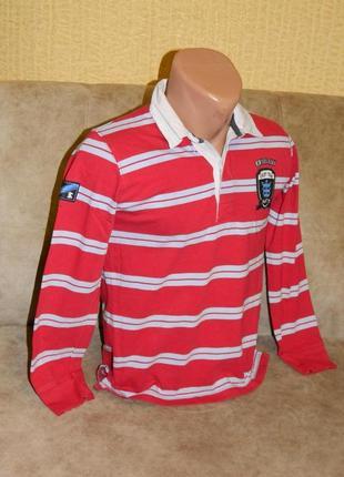 Кофта на мальчика подростка красная в полоску на 11-12 лет zar...