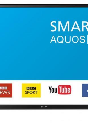 "Телевизор 49"" Sharp LC-49CFF6002E-Smart TV-(A)-Б/У"