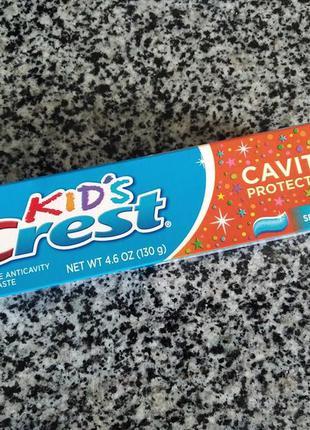 Детская зубная паста crest kids cavity protection sparkle fun
