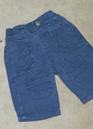 Штаны шорты капри на мальчика малыша f & f.