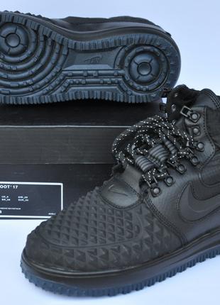 "Nike Lunar Force 1 Duckboot ""Чорні"""