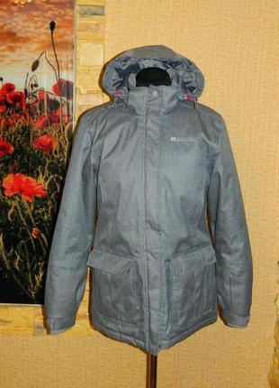 Куртка зимняя термо женская серая лыжная mountain warehouse р....