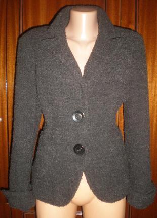 Шерстяний піджак, куртка ) 38р