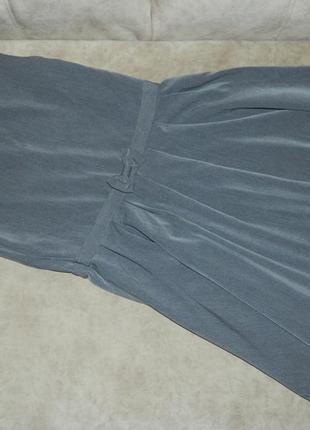 Платье сарафан детский серый школьный george на девочку 11-12 ...