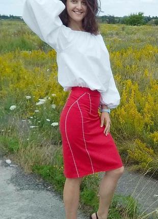 Эксклюзивная юбка-карандаш