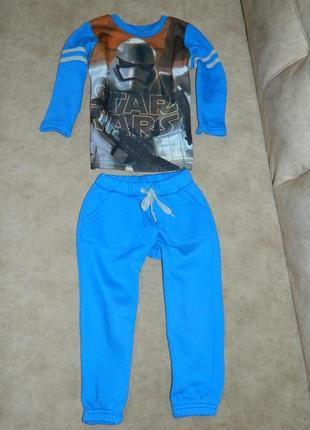 Спортивный детский костюм звездные войны на 3-4 года.