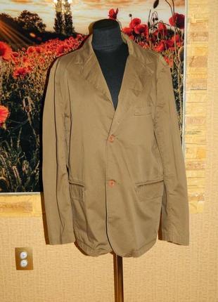Пиджак женский коричневый размер 52-54 castromentrend.