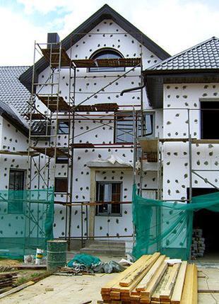 Виконуємо фасадні роботи будинків, квартир, офісів