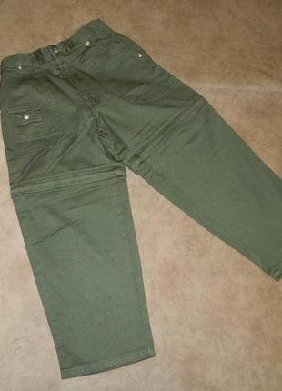 Штаны брюки шорты детские новые хаки на мальчика 5-6 лет buste...