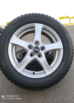 Диски литые Volkswagen Passat VW Jetta Golf Caddy Skoda Seat R16