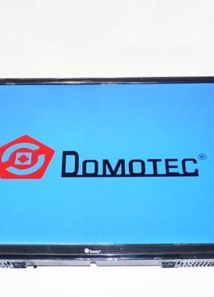 "LCD LED Телевизор Domotec 24"" DVB - T2 12v/220v HDMI"