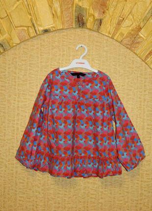 Детское платье розовое с голубым на девочку 6 лет french conne...