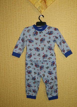 Пижама на мальчика с человеком пауком на 2-3 года