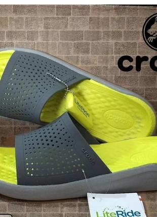 Шлепки crocs  literide m13