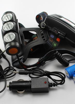 Налобный фонарик Bailong Police BL-2155-T6