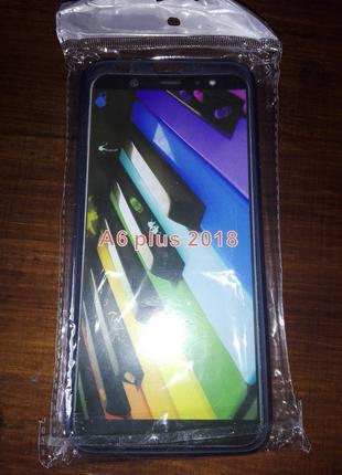 Чехол силиконовый для Samsung A6 Plus
