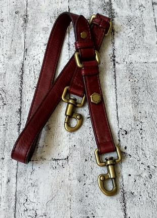 Кожаный плечевой ремень marc by jacobs