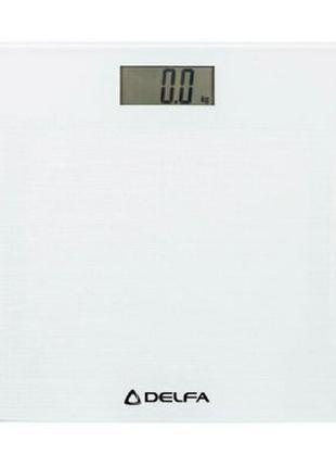 Весы напольные Delfa DBS-7218