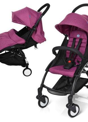 Прогулочная коляска Baby YOGA (Yoya) M 3548-9-2, фиолетовая