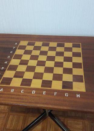 Столик на колесах шахматный,  кофейный, журнальный,  для ноутбука