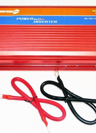 12V-220V 3000W Преобразователь инвертор с функцией плавного пуска