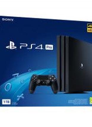 Sony PlayStation 4 Pro 1TB НОВА