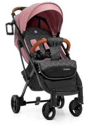 Прогулочная коляска Baby YOGA M 3910 Pale Pink