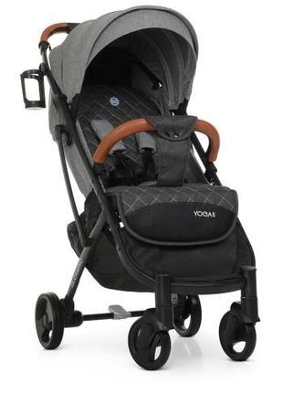 Прогулочная коляска Baby YOGA M 3910 Iron Gray
