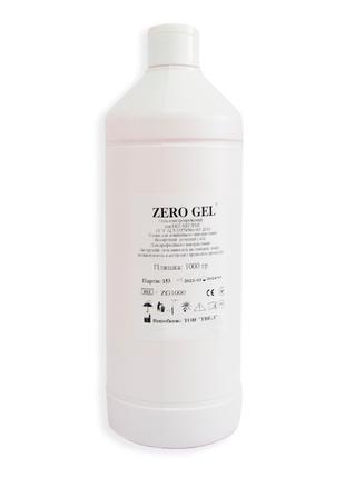Гель Zero gel (1 л) токопроводящий для ЭКГ, УЗИ, ЕЕГ, миостиму...