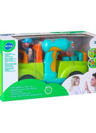 Детская музыкальная игрушка Hola Toys Грузовик с инструментами