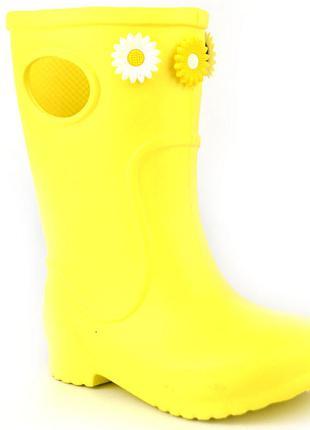 Jose Amorales Сапоги детские Jose Amorales 117161 желтый