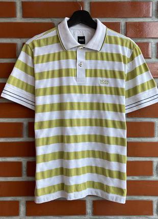 Hugo boss оригинал мужская футболка поло размер m хуго босс б у