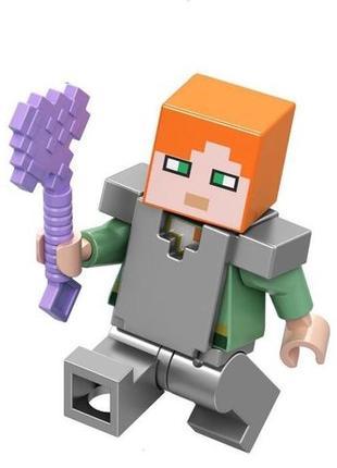 Lego человечки из Minecraft (Майнкрафт)