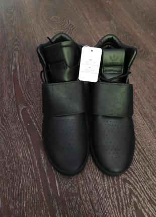 Кроссовки кожаные adidas tubular
