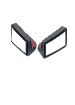 Зеркала для слепых зон авто (пара) в угол 6*4см. Зеркала вспом...