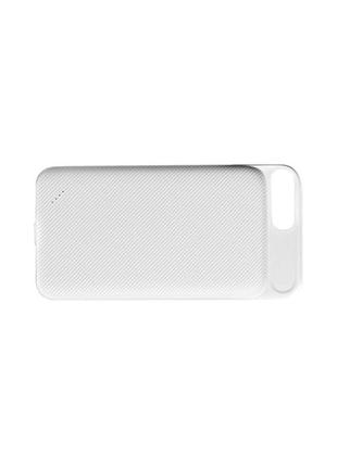 PowerBank-чехол Hoco - BW3 4000 mAh White для iPhone 6+/6s+/7+
