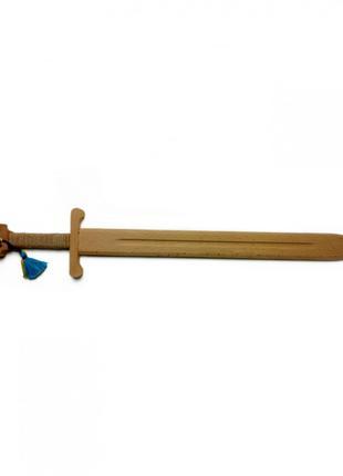 Игрушечный меч 172310 деревянный, бук 40см