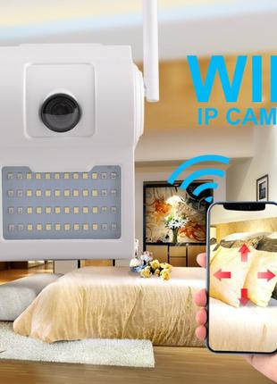 Уличная настенная IP WI FI камера видеонаблюдения светильник D...
