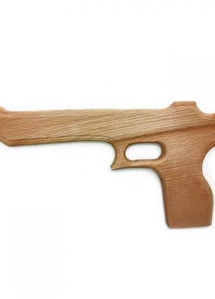 """Игрушечный пистолет """"Магнум Пустынный орел"""" 171915y деревянный"""