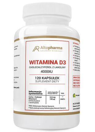 Витамины Altopharma D3 4000 IU - 120 капс