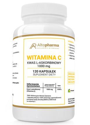 Витамины Altopharma C - 120 капс