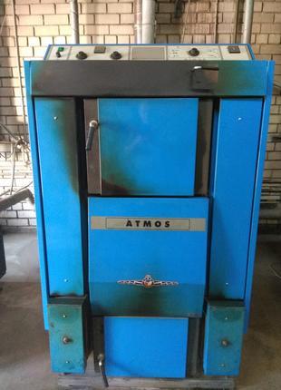 Котел отопительный твердотопливный пиролизный ATMOS DC 100