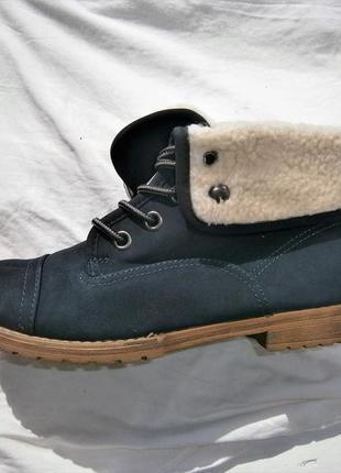 Ботинки зимові низькі landrover schnürboot оригінал